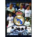 Zvezek mehke platnice A4 črte, Real Madrid 61977