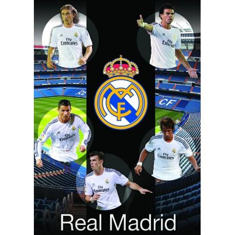 Zvezek mehke platnice A4 karo, Real Madrid 61979