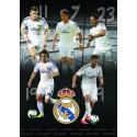 Zvezek mehke platnice A5 karo, Real Madrid 61983