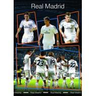 Zvezek mehke platnice A5 brez črt, Real Madrid 61985