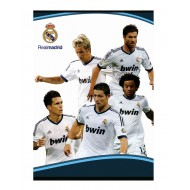 Zvezek trde platnice A5 črte, Real Madrid 62554