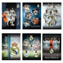 Zvezek s špiralo A4 črte, Real Madrid 62560