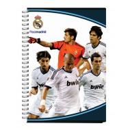 Zvezek s špiralo A5 črte, Real Madrid 62562
