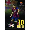 Zvezek trde platnice A4 karo, FC Barcelona 62401