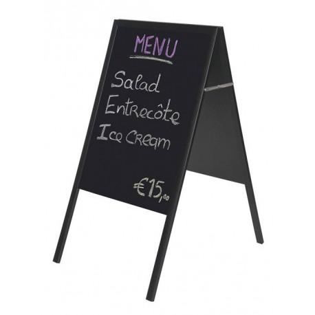 Tabla za obvestila 45 x 60 cm, črna