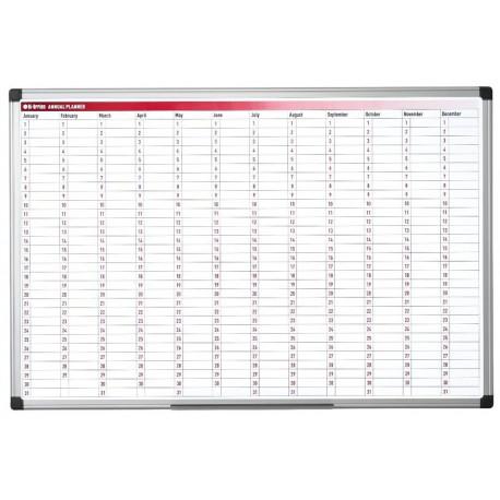 Tabla z letnim planerjem 60 x 90 cm
