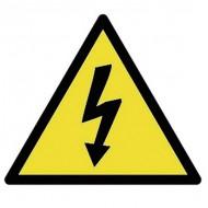Nalepka – Nevarnost električnega udara