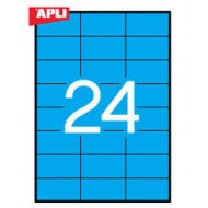 Etikete Apli 70 x 37 mm, modre