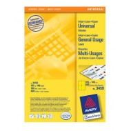 Etikete za označevanje, rumene 105 x 148 mm - 3459