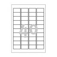 Etikete za označevanje, varovalne 45,7 x 25,4 mm - L6145-20