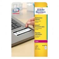 Varovalne etikete, NoPeel, 63,5 x 33,9 mm