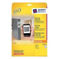 Etikete za QR kode 35 x 35 mm - L7120-25