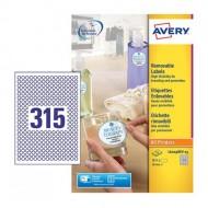 Etikete za označevanje, okrogle Ø 10 mm - L6019REV-25