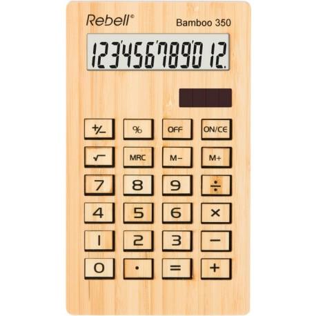 Namizni kalkulator Bamboo 350 Rebell