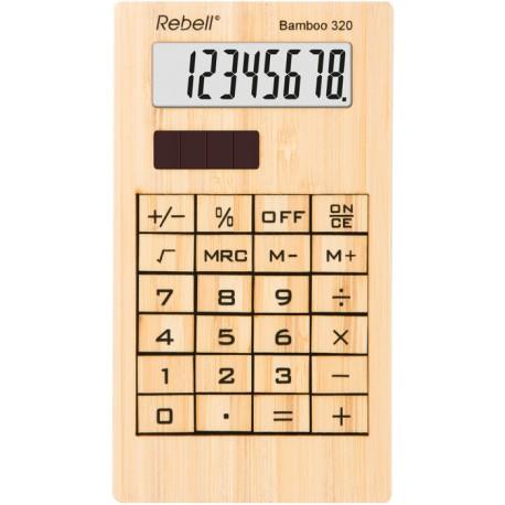Namizni kalkulator Bamboo 320 Rebell