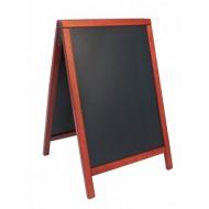 Tabla črna kredna ulična SBDTE85 55x85 cm