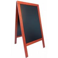 Tabla črna kredna ulična SBSM135 70X135 cm