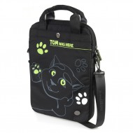 Torba za laptop Talking Tom's Black Laptop Bag
