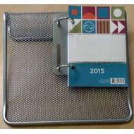 Namizni koledar mreža srebn Forpus 2015