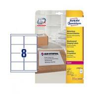 Etikete za B4/C4 ovojnice, odporne proti vremenu 99,1 x 67,7 mm