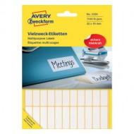 Mini etikete za označevanje 32 x 10 mm 3320