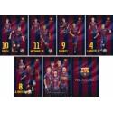 Zvezek Barcelona A4 1cm karo