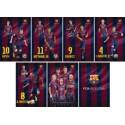 Zvezek Barcelona A5 latajn