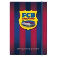Zvezek s trdimi platnicami in elastiko Barcelona A5