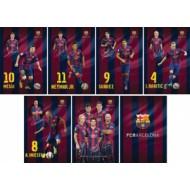 Zvezek Barcelona črtan A4