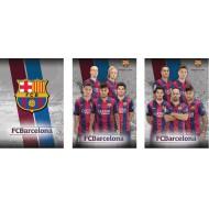 Zvezek brez črt Barcelona A4