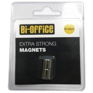 Bi-Office Magneti za steklene table, 2 kos fi 10mm