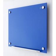 Nobo Tabla stenska steklena 60 x 90, modra do odprodaje zaloge