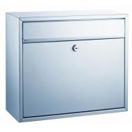 ALCO Poštni nabiralnik 8601, kovinski, srebrn