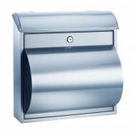 ALCO Poštni nabiralnik 8605, nerjaveče jeklo