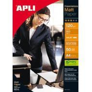 APLI Foto papir A4 Matt 120g 50 listov