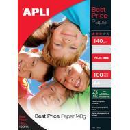 APLI Foto papir A4 Best Price 140g 100 listov