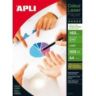 APLI Foto papir A4 Laser Glossy 160g 100 listov
