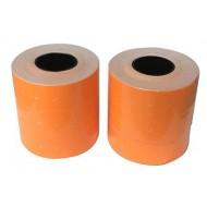 Apli Nalepke za numerator 26x16, oranž,odstr. 6x1000 kos, dvoredne, zaokrožene