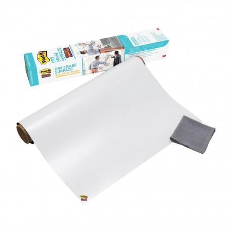 Bi-Office Samolepilna bela folija 60 x 90 cm