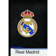 Zvezek z trdimi platnicami Real Madrid A4