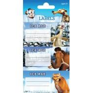 Etikete za zvezke ICE AGE 63095