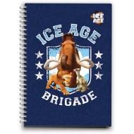 Zvezek s špiralo ICE AGE A6 63103