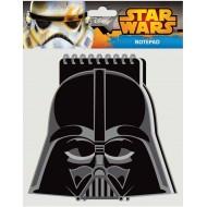 Beležka s špiralo Star Wars 227222