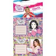 Etikete za zvezke Violetta 228757