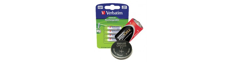 Alkalne, polnilne in gumbne baterije